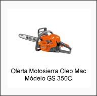 Oferta Motosierras